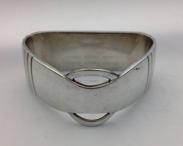 Georg Jensen silver cutlery, Parallel pattern napkin ring
