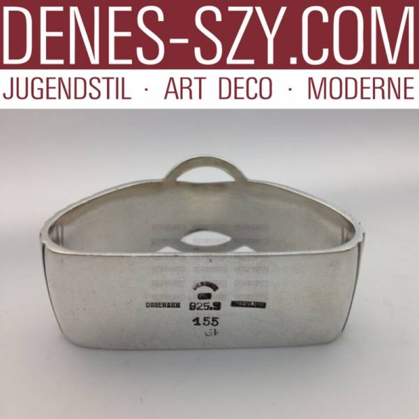 portatovagliolo di Georg Jensen posate argento collezione rilievo