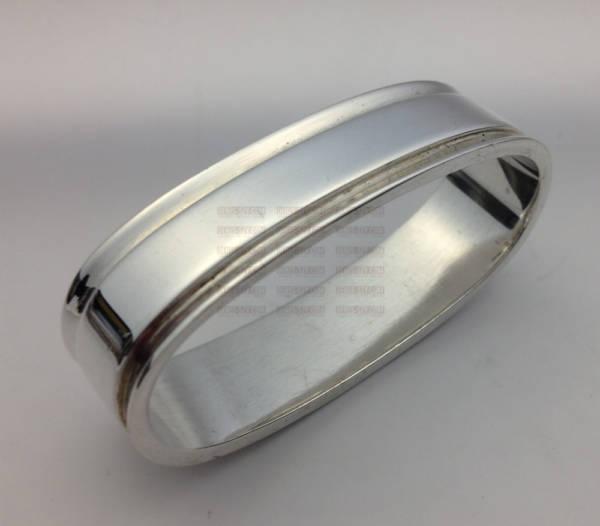 Georg Jensen silver Pyramid pattern napkin ring 22 A