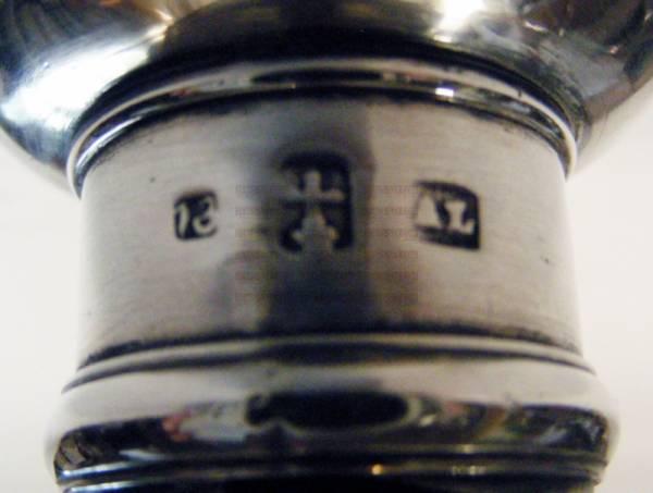 Biedermeier candeliere in argento 13 Lot, Landsberg 1879 Germania