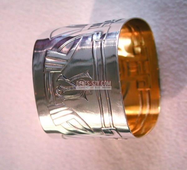 portatovagliolo d'argento, Art Nouveau, Germania