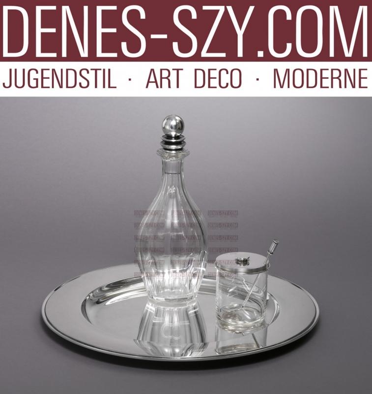 Carafe modèle pyramide en argent Georg Jensen 206