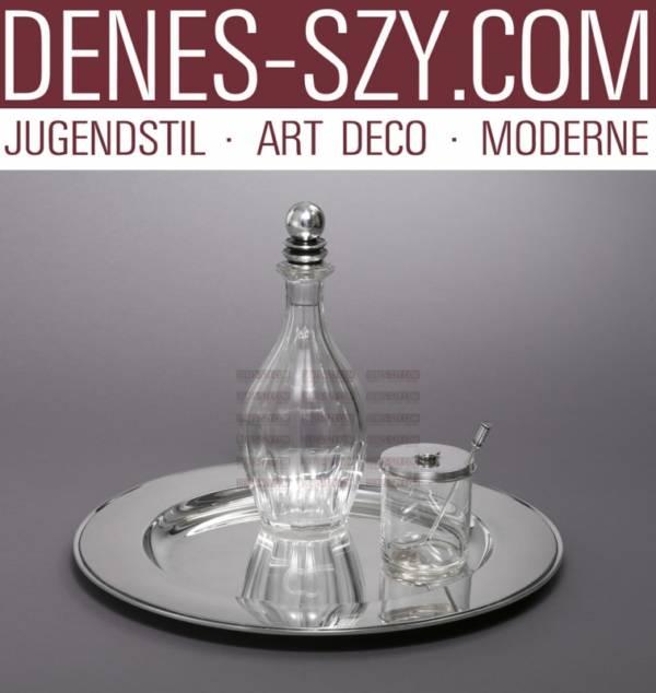 GEORG JENSEN SILBER, PYRAMIDE  XXL Tablett 600 M