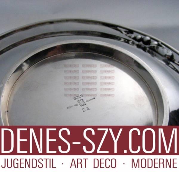 Ciotola 2A in argento di Georg Jensen collezione Magnolia 1933-44