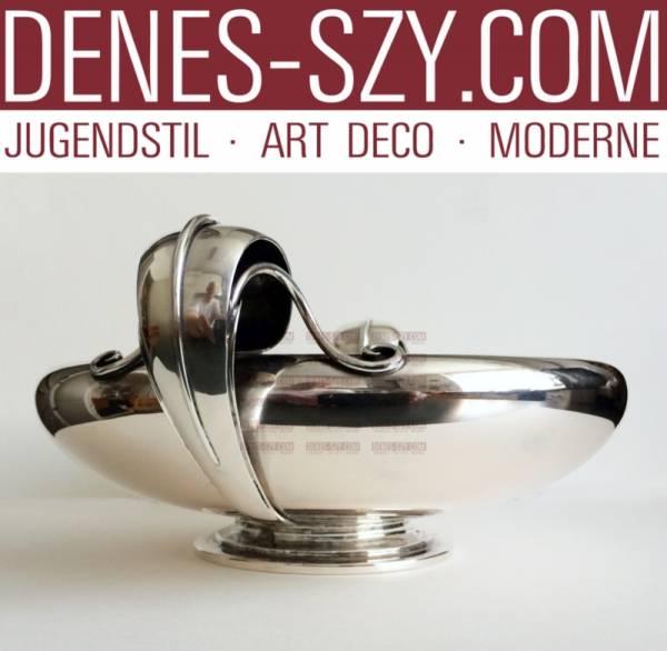 Dänische Art Deco Silber SCHALE, P. Hertz 1936