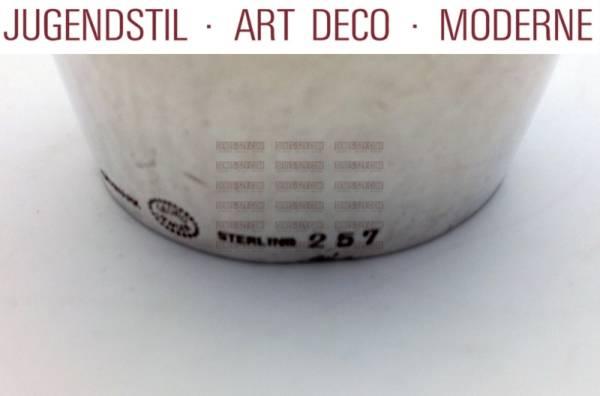 Georg Jensen campanina da tavolo in argento magnolia 257