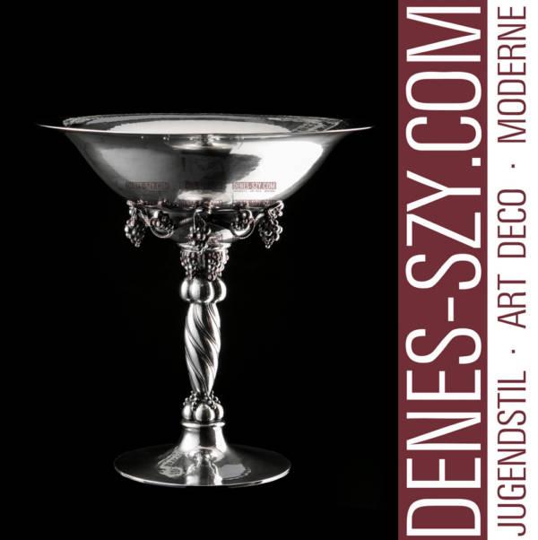 Georg Jensen Sterling silver Grapevine tazza grape bowl 264 A