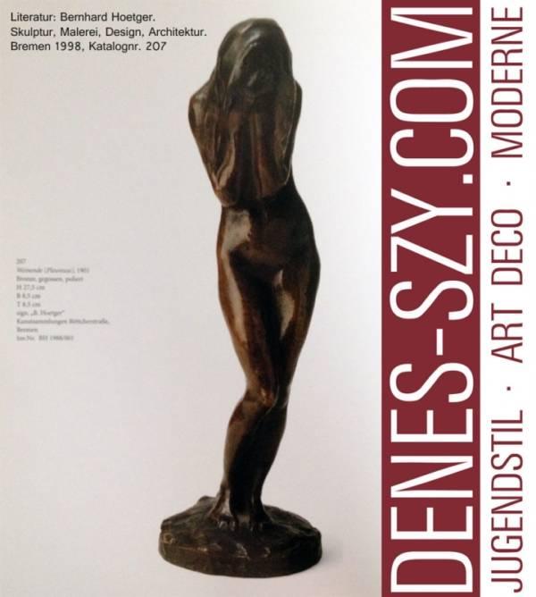 Bernhard HOETGER: Weinende. Bronze, Darmstädter Künstlerkolonie