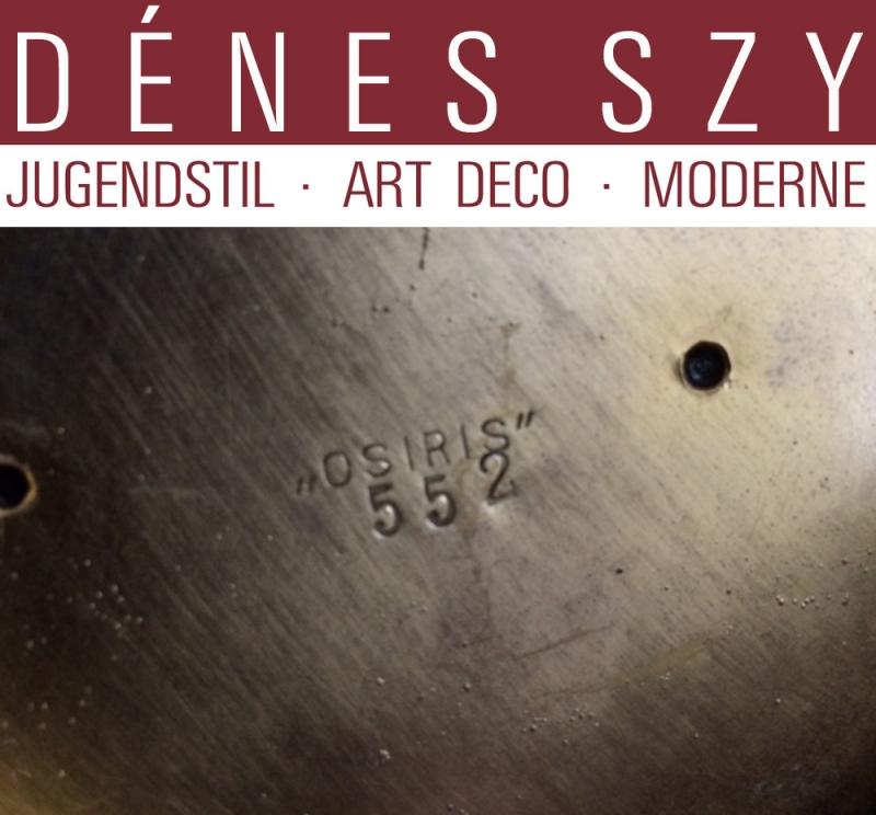 Art Nouveau OSIRIS étain ZSOLNAY PECS HONGRIE vase en céramique 552