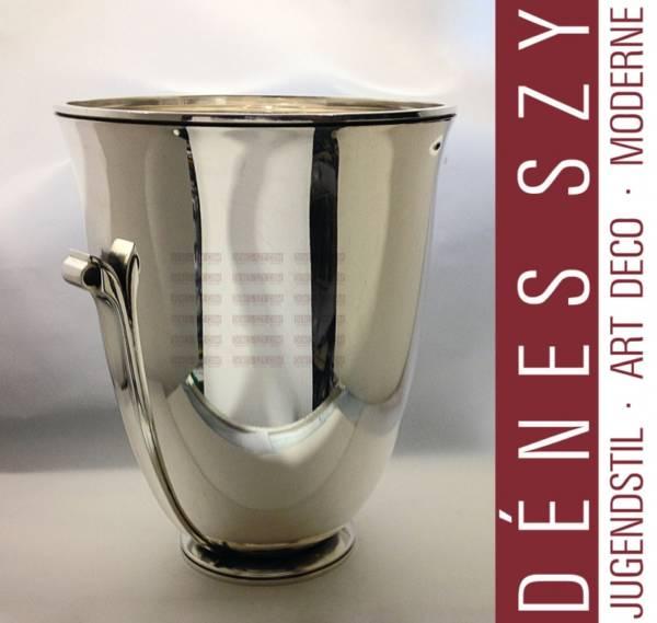 GEORG JENSEN Silber PYRAMIDE Weinkühler # 725B