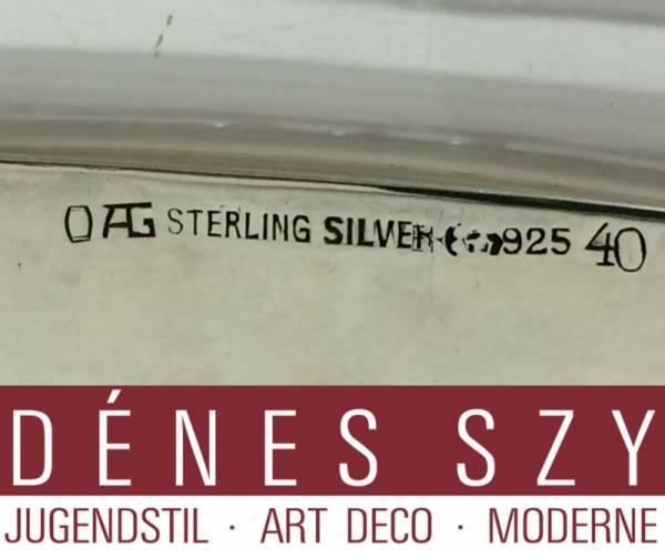 ORIVIT, Köln, OAG Jugendstil Silber, Jardiniere # 40