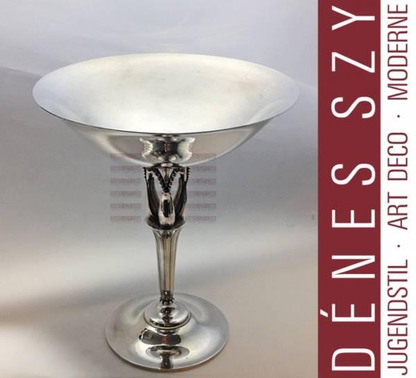 Georg Jensen Sterling Silber Jugendstil Tazza # 100