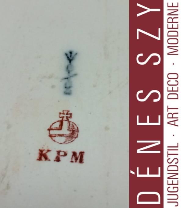 KPM Berlin Amberg Hochzeitszug porcelain centerpiece bowl