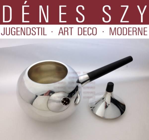 Georg Jensen silver tea pot 1091 by Henning Koppel
