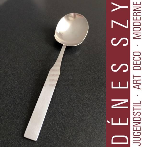 Emil Lettre 6300, Mid Century Modern Silver serving spoon, Berlin 1930