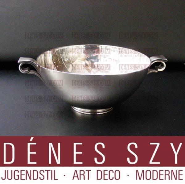 Georg Jensen Sterling Silber Schale # 580 B, PYRAMIDE