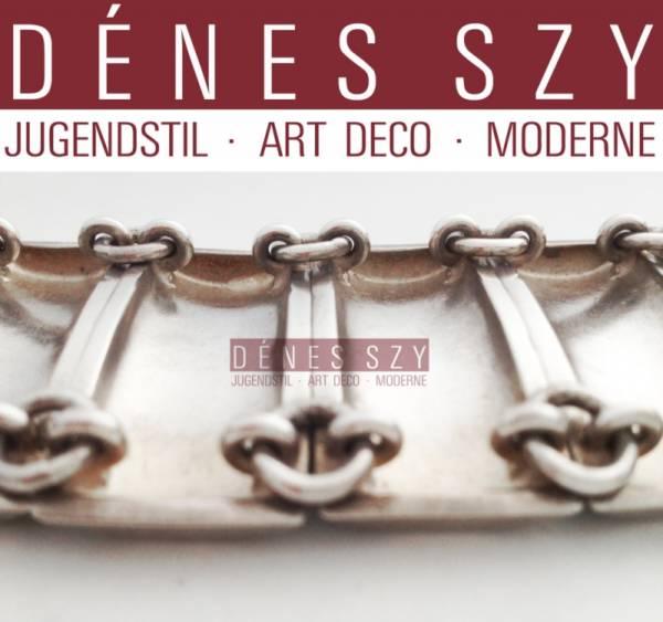 bijoux Hans Jensen bracelet en argent Georg Jensen