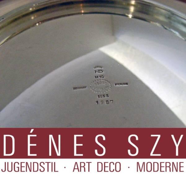 Georg Jensen silver Nanna Ditzel design centerpiece bowl 1287