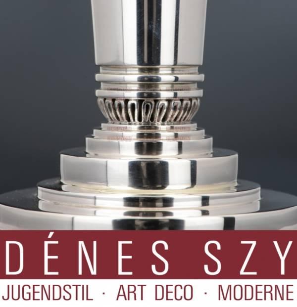 candeliere 691 B in argento Sterling di Georg Jensen collezione piramide