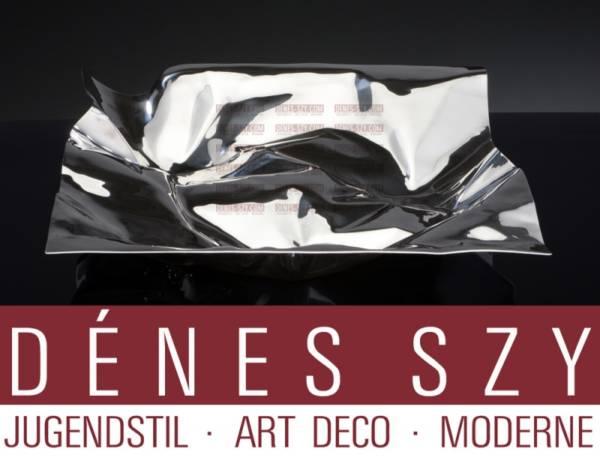 Georg Jensen Sterling Silber VERNER PANTON XXL Centerpiece #1302