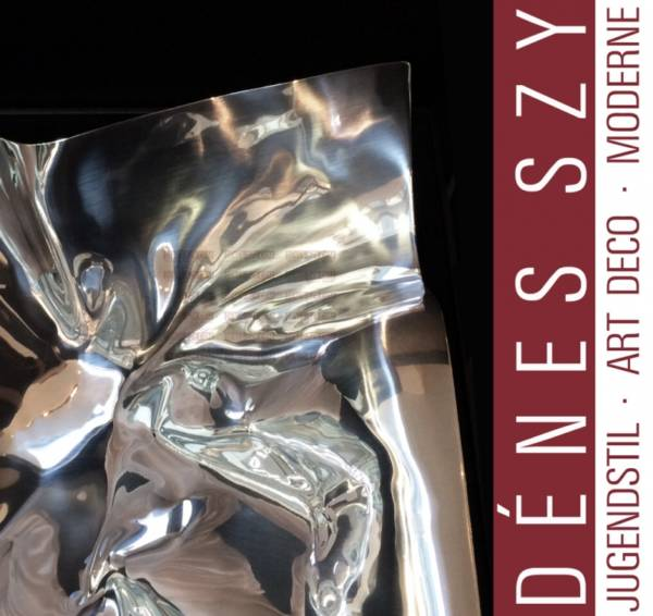 Georg Jensen Sterling XXL Bol à fruits # 1302, Verner Panton Design