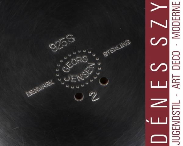 Georg Jensen Sterling Silber Jugendstil Tazza # 2 Magnolia