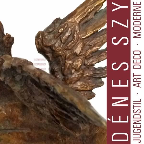 Renée SINTENIS: Pegasus. Bronze Figur, Berlin 1952