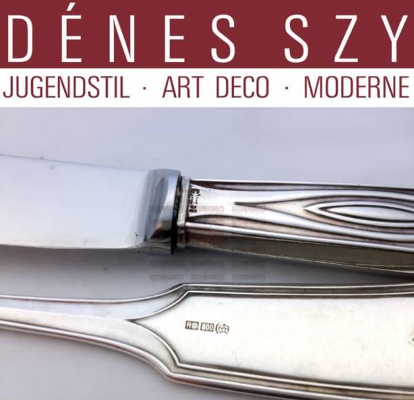 Peter Behrens, MAISON Behrens, argenterie Art Nouveau, DARMSTADT