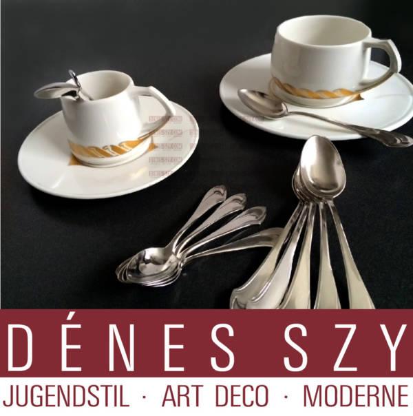 Henry van de Velde posate argento modello I cucchiaino