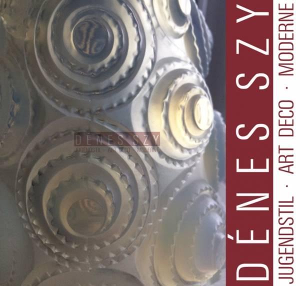 R. Lalique France kleine Art DECO VASE SPIRALES 1930