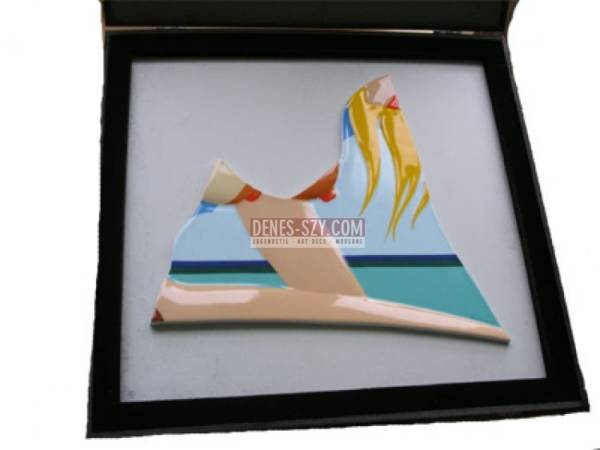 Tom Wesselmann Seascape 1984 Rosenthal porcelain