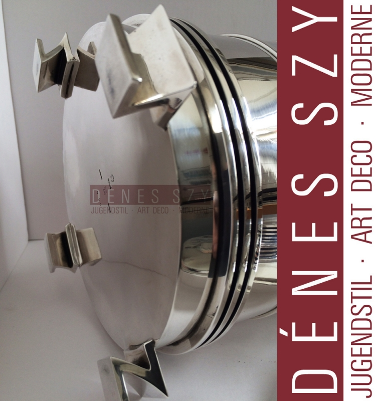 Impressive GEORG JENSEN STERLING Large CANISTER #796 by JJ