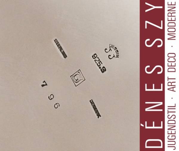 Impressive GEORG JENSEN STERLING Large CANISTER #796 by JJ