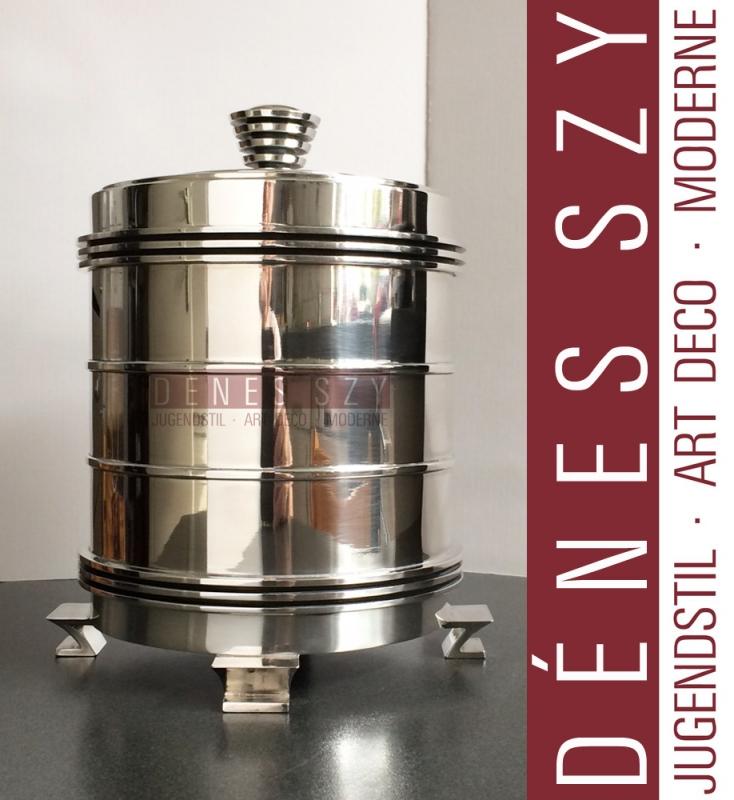 Georg Jensen Sterling Silver Canister No. 796 by Jorgen Jensen