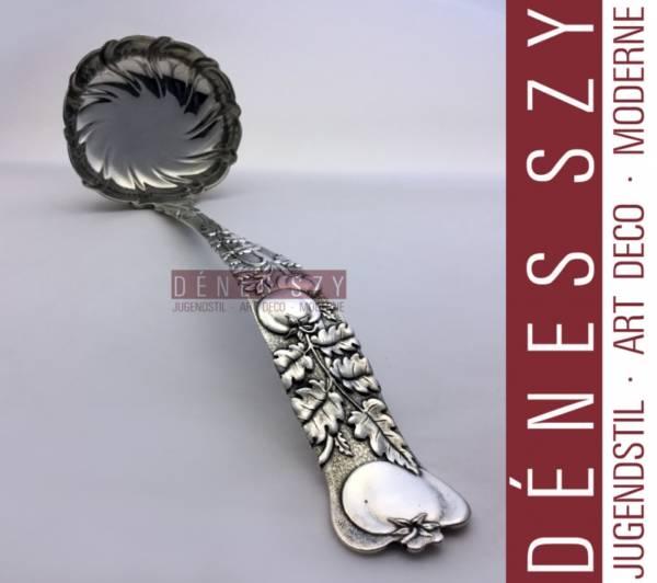 Vine pattern by Tiffany, Sterling silver cutlery, soup ladle 11 inch