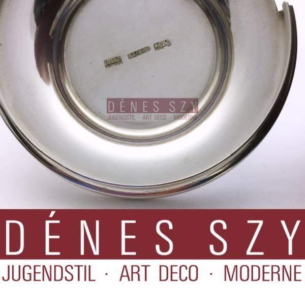 Frantz Hingelberg Sterling Royal Copenhagen boîte en céramique