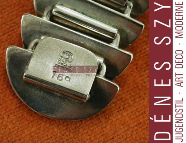 Georg Jensen braccialetto 169 argento Design di Astrid Frog