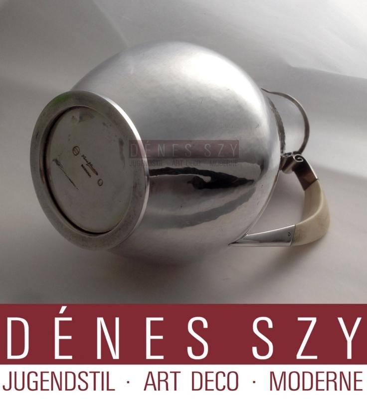 Hans Hansen Art Deco Sterling Silber Kanne Krug # 168
