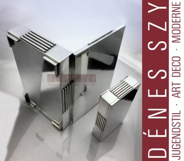 Scatola XXL in argento sterling Art Deco Georg Jensen 857 JJ