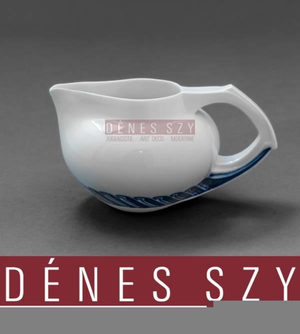 Henry van de Velde meissen porcelain, Peitschenhieb, whiplash, cream jug