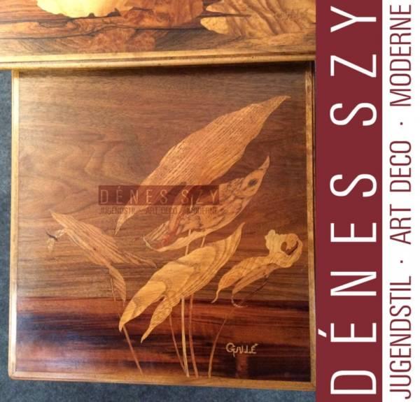 Emile Galle Art Nouveau Dragonfly Nesting Tables Nancy 1900