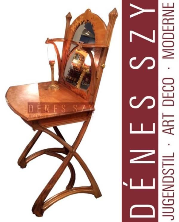 Louis Majorelle Nancy France Art Nouveau Frisier Tisch 1898