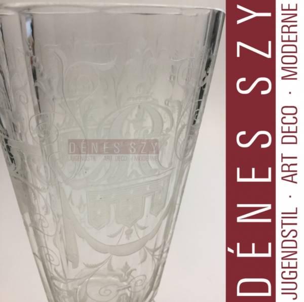 Josef LOBMEYR Vienna 1910 bicchiere da birra
