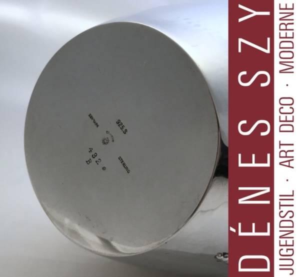 GEORG JENSEN SILBER 925 HANDMADE Deckelkanne 432 B