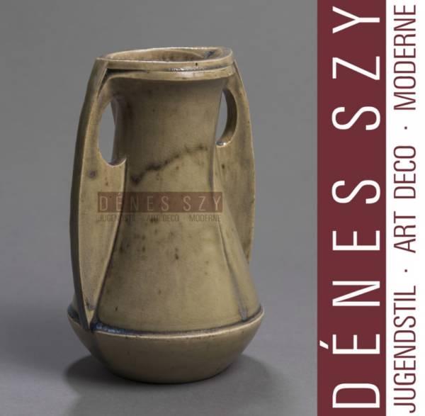 Henry van de Velde Art Nouveau Steinzeug Vase, Hanke 2117