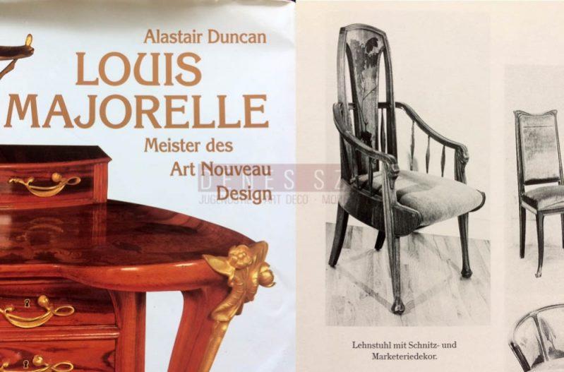 Louis Majorelle Nancy France 1900, Art Nouveau Armlehnsessel