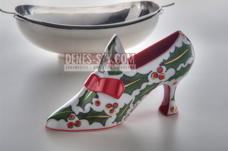 ANDY WARHOL, Christmas shoes, 2003, Rosenthal Lim Kunstreihe