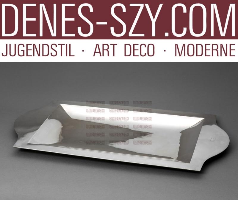 Emil Lettré XXL Art Deco Sterling Schale