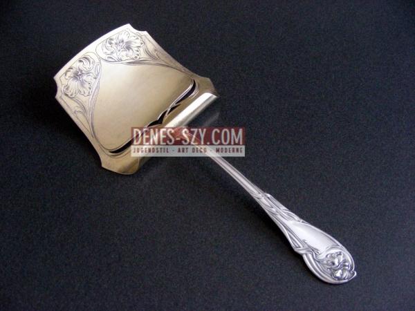 Bruckmann Iris pattern German art nouveau silver cutlery