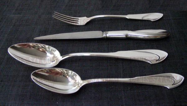 Henry van de Velde posate in argento stile liberty cucchiaio da tavola